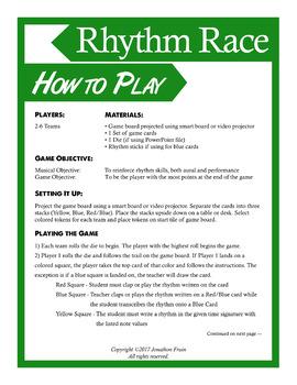 Rhythm Race