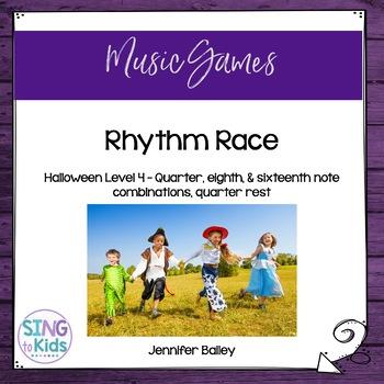 Rhythm Race: Halloween Level 4