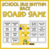 Rhythm Race Note and Rest Values Board Game -- Back to School Fun!