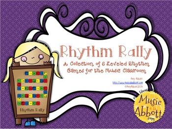 Rhythm Rally Races: a Collection of Rhythmic Board Games