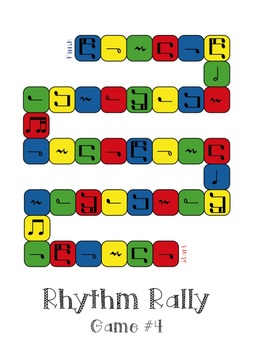 Music Games: Rhythm Rally Races, a Collection of Rhythmic Board Games