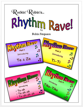 Rhythm Rave - Bundle Set A - Parts 1-4 (Rhythm Introduction & Practice)
