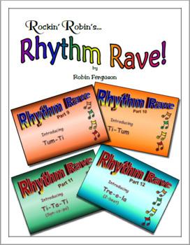 Rhythm Rave - Bundle Set C - Parts 9-12 (Rhythm Introduction & Practice)
