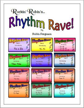 Rhythm Rave - Bundle Set D - Parts 1-12 (Rhythm Introduction & Practice)