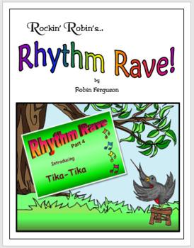 Rhythm Rave - Part 4 - Intro to Tika-Tika (Rhythm Introduction & Practice)