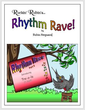 Rhythm Rave - Part 8 - Intro to Tre-o-la!  (1-beat) (Rhythm Intro & Practice)