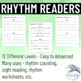 Rhythm Readers - Rhythm Counting, Sight Reading, Rhythm Wo