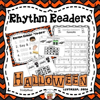 Rhythm Readers (Halloween)