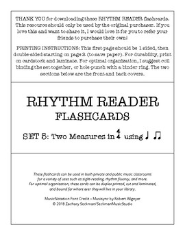 Rhythm Readers Set 5