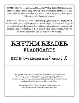Rhythm Readers Set 6