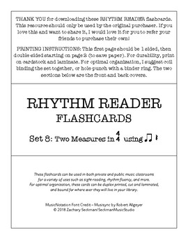 Rhythm Readers Set 8