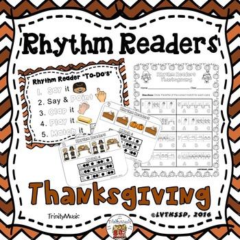 Rhythm Readers (Thanksgiving)