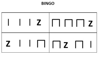 Rhythm Reading Bingo