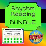 Rhythm Reading Boom Cards - BUNDLE