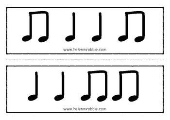 Rhythm Reading Flashcards