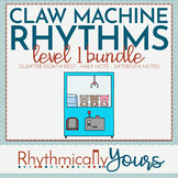 Rhythm Reading Game Bundle - Quarter Eighth Rest Half Sixteenth