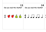 Music: Rhythm Reading Game: Quarter Notes and Eighth Notes