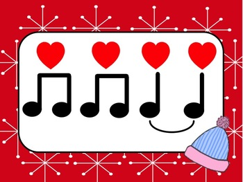 Rhythm Reading Half Note: Winter Theme