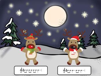 Rhythm Reindeer Games: Kodaly Edition