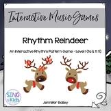 Rhythm Reindeer 1 : An Interactive Rhythm Pattern Game {Kodaly Edition}
