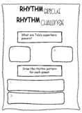 Rhythm Rescue Worksheets