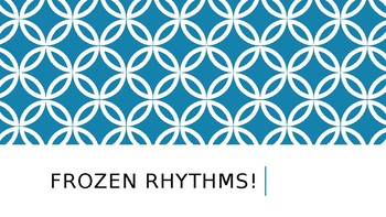 Rhythm Review - Frozen Characters PowerPoint
