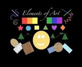 Rhythm Rhyme Visual story  & song  about the Elements of art