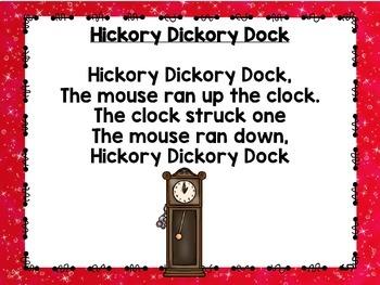 Rhythms & Rhymes: Hickory Dickory Dock {Nursery Rhymes}