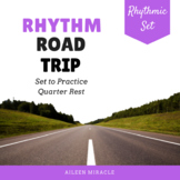 Rhythm Games and Assessments for Quarter Rest {Road Trip}