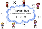 Rhythm Roll, a small group activity to practise tika tika (sixteenths)