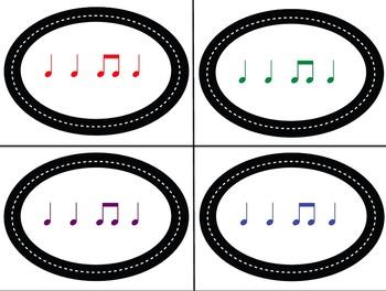 Rhythm Rush Relay Rhythm Identification Game: Quarter Eighth Edition