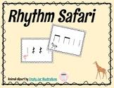 Rhythm Safari Activity! (Quarter Note, Eighth Notes, Quart