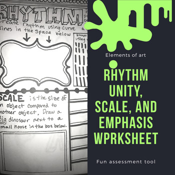 Rhythm, Scale, Unity, and Emphasis Worksheet
