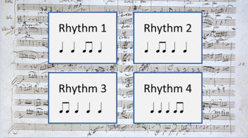 Rhythm Set 2 - ♩ Z ♫ - (Ear Training and Aural Skills)