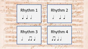Rhythm Set 3 - d. d ♩ Z ♫ - (Ear Training and Aural Skills)