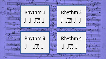 Rhythm Set 5 - d ♩ ♫, ♬♬, ♪♬ - (Ear Training and Aural Skills)