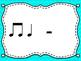 Rhythm & Shake {Rhythm Cards with Brain Breaks}:  Half Rest