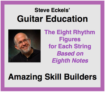 Rhythm Skill Builders for Guitar, Based on Eighth Notes