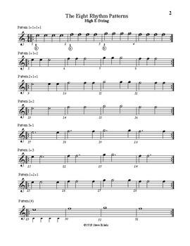 Rhythm Skill Builders for Guitar, Based on Quarter Notes