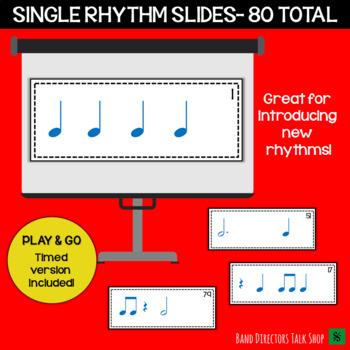 Rhythm Slides & Grids - Level 2 Rhythm Activities