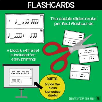 Rhythm Slides & Grids - Level 3 Rhythm Activities