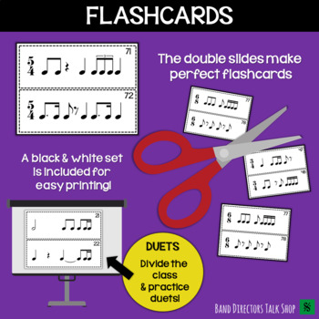Rhythm Slides & Grids - Level 5 Rhythm Activities