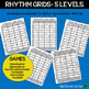Rhythm Slides & Grids - Rhythm Activities BUNDLE