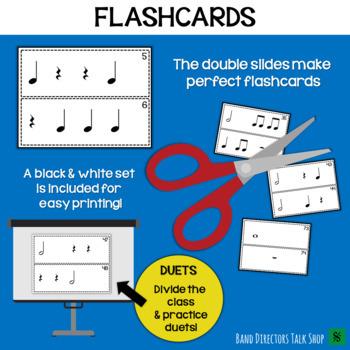 Rhythm Slides & Grids - Level 1 Rhythm Activities