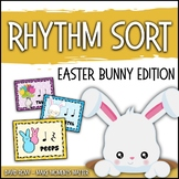 Rhythm Centers and Composition Rhythm Sort - Easter Bunny Edition
