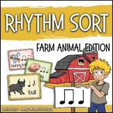 Rhythm Centers and Composition Rhythm Sort - Farm Edition