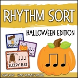 Rhythm Centers and Composition Rhythm Sort - Halloween Edition