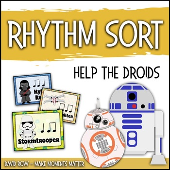 Rhythm Sort - Help the Droids Edition for Rhythm Centers and Composition