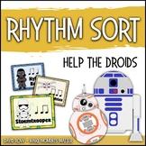 Rhythm Centers and Composition Rhythm Sort - Help the Droids Edition