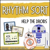 Rhythm Centers and Composition Rhythm Sort - Help the Droi